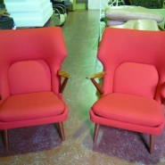 Unique Red Chairs