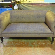 Finished Upholstery Repair and Renewal